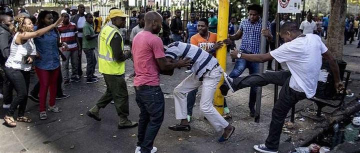 العنف في جنوب أفريقيا..